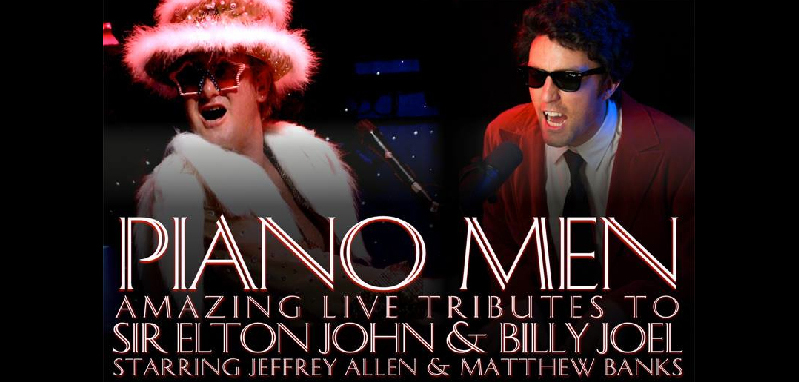 Piano Men: Amazing Live Tribute to Sir Elton John and Billy Show coming to the Van Singel Fine Arts Center November 29 at 7:30 pm. Call 6168786800 for tickets.